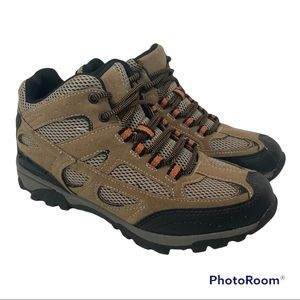 Ozark Trail Boy's Hiking Boots Outdoor Lace Up Vented Size 6